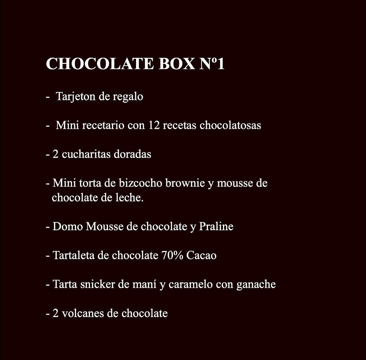 Chocolate Box 1 Contenido